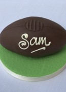Sam's mini rugby ball