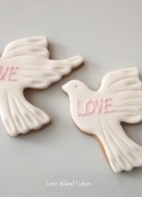 Love Dove Cookies