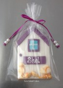 Beach hut cookie