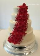 Red Blossom cascade