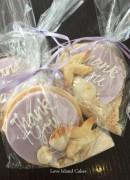 Lilac beach bags