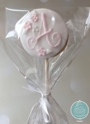 Monogram lollipop