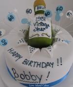 Brut Celebration Cake