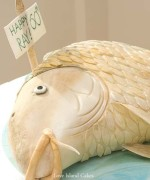 Gold Carp Cake
