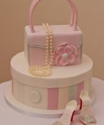 Handbag & Hatbox Celebration Cake