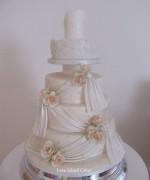 Karen's Dress Wedding Cake