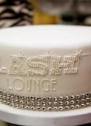 Lash Lounge Launch Party Cake