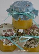 Mini jars of Lemon Curd