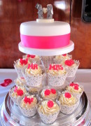 Mr & Mrs Wedding Cupcakes