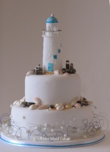 The Lighthouse Wedding Cake