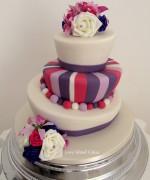 Topsy-Turvy Wedding Cake