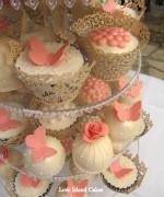 Vintage Glam Cupcakes
