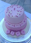 Zina's Baptism Celebration Cake