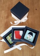 Bespoke decorated biscuit gift box
