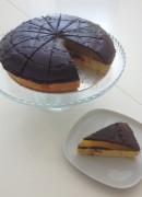 Gluten-free Giant Jaffa Cake