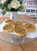 Gluten-free Caramelised Onion Tart