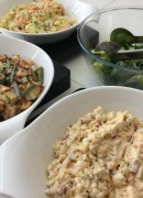 Mixed salads (summer lunch menu)