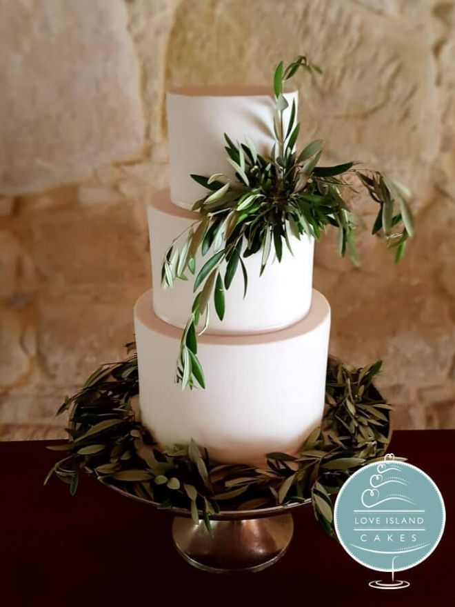 Extra tall with olive leaves