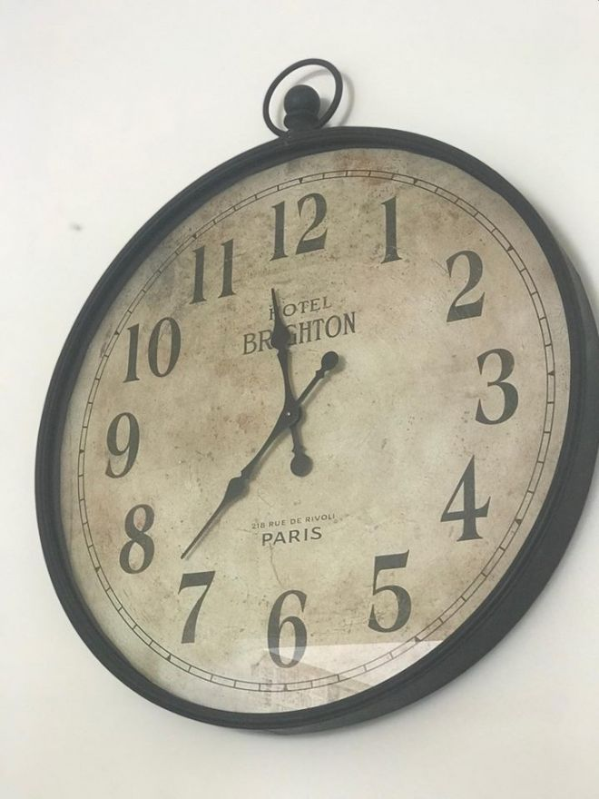 Hotel Brighton Large Clock 92cm