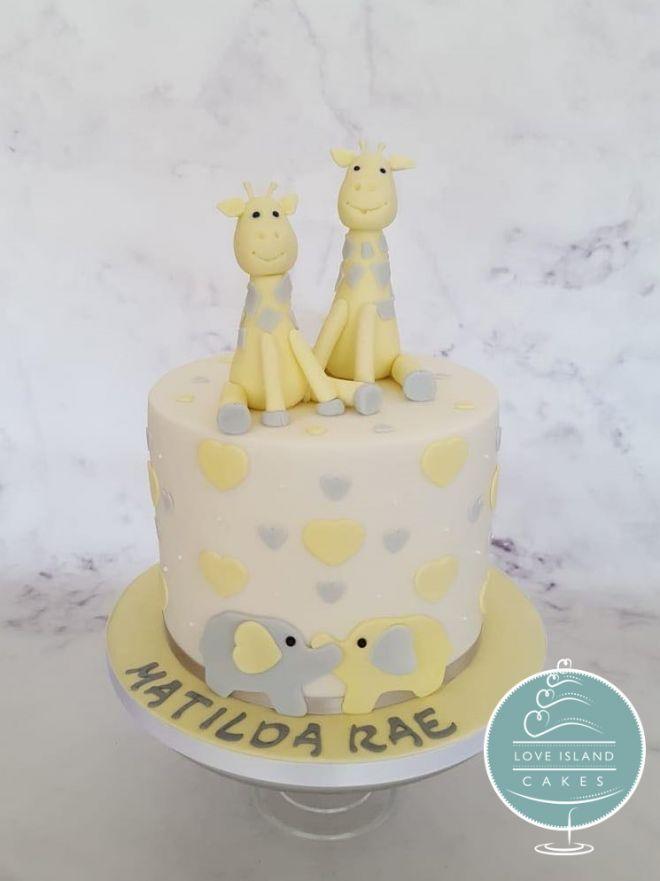 Matilda's giraffes