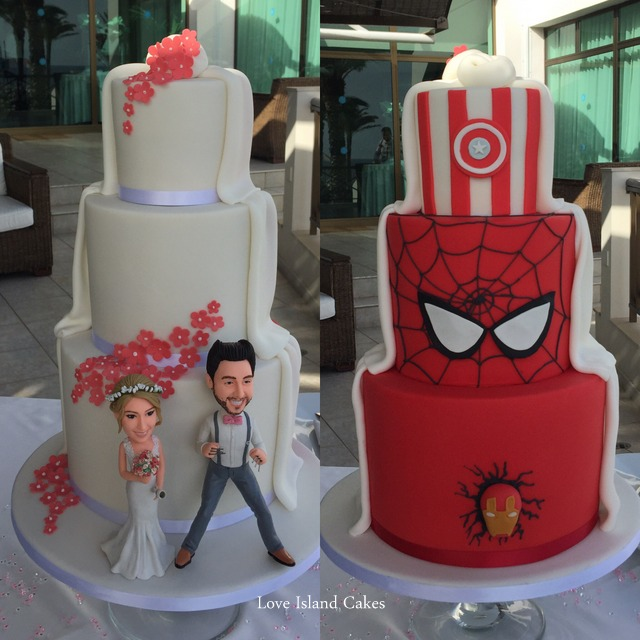 The Two-sided Comic Cake