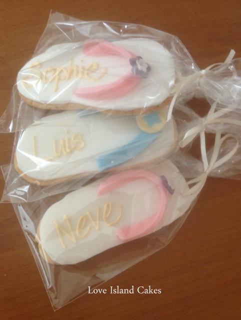 Flip Flops Cookies