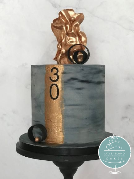 Bronze grey 30th