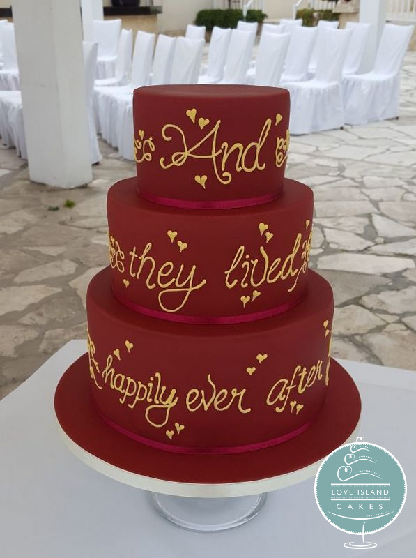 Claret & Gold Happily Ever After