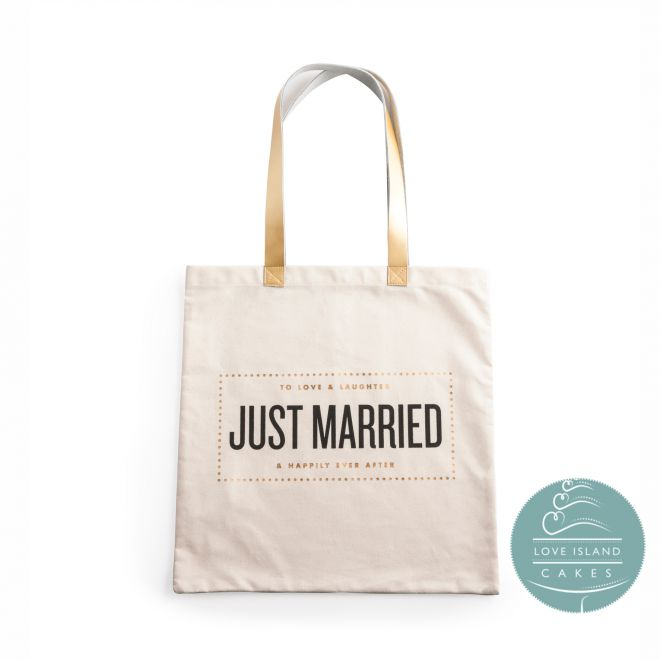 Just Married Tote