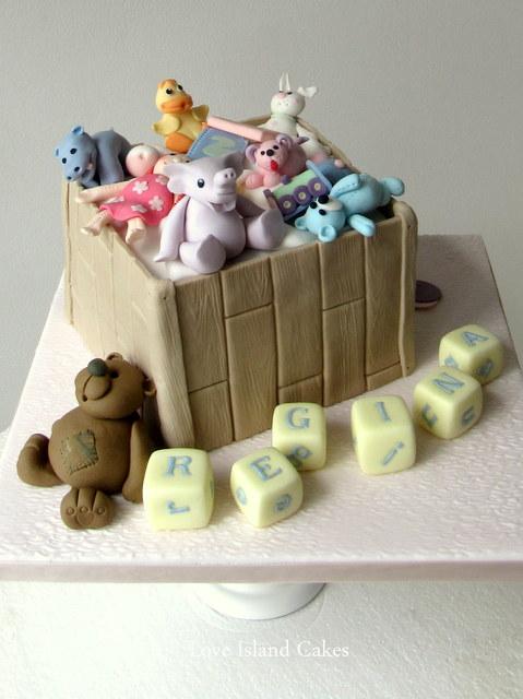 Regina's Toy Box Cake